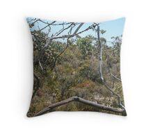 Framed Flora Throw Pillow