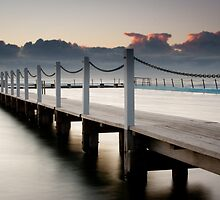 Narrabeen Jetty Sunrise by Rob McDougall