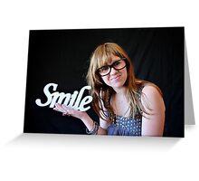 Smile #2 Greeting Card