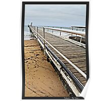 Clump Point Jetty, Mission Beach NQ Poster