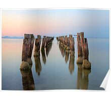 Clifton Springs Jetty Poster