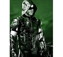 Green Arrow Render Photographic Print