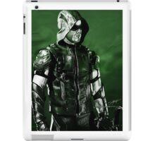 Green Arrow Render iPad Case/Skin