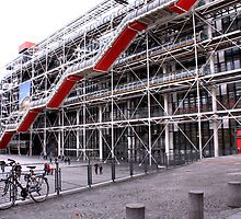 Pompidou Centre, Paris by SoulSparrow