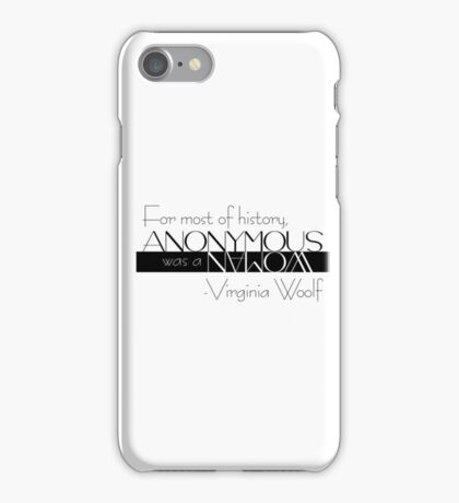AnonyMs. iPhone Case/Skin