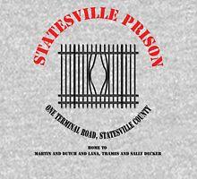 Statesville Prison - Black (Police Squad) T-Shirt