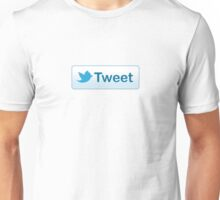 Twitter Tweet Button Shirt Unisex T-Shirt