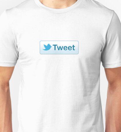 Twitter Tweet Button Shirt Unisex T-Shirt
