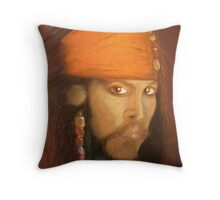 Captain Jack Sparrow Throw Pillow