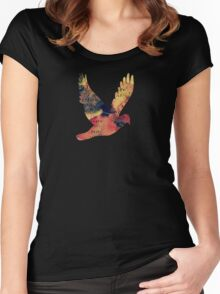 Waterlily Leaves - JUSTART ©  Women's Fitted Scoop T-Shirt