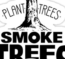 Smoke Trees Sticker