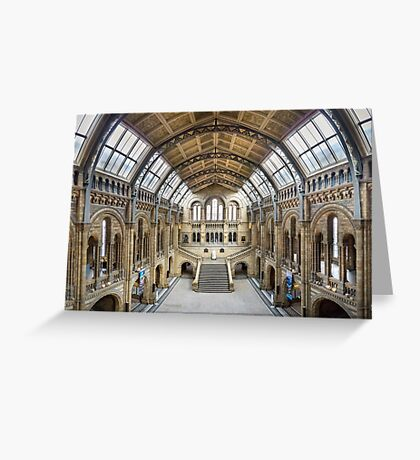 Natural History Museum - Hintze Hall Greeting Card