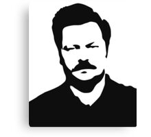 Ron Swanson - Parks and Recreation Canvas Print