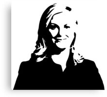 Leslie Knope - Parks and Recreation Canvas Print