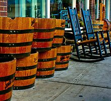 Barrels and Rocking Chairs by Ray Wells
