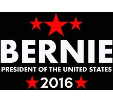 Bernie Sanders For President 2016 Photographic Print