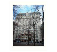 Willard Hotel, Washington, DC Art Print