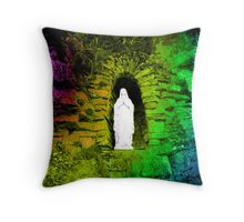 Sweet mother Mary Throw Pillow