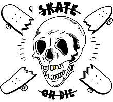 Skate or Die Photographic Print