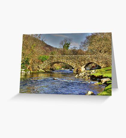 River Duddon Bridge - Lake District Greeting Card