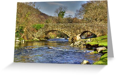 River Duddon Bridge - Lake District by Trevor Kersley