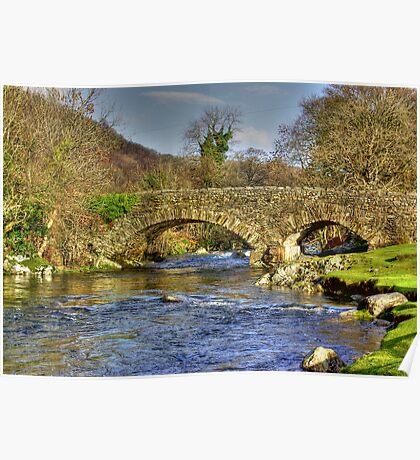 River Duddon Bridge - Lake District Poster