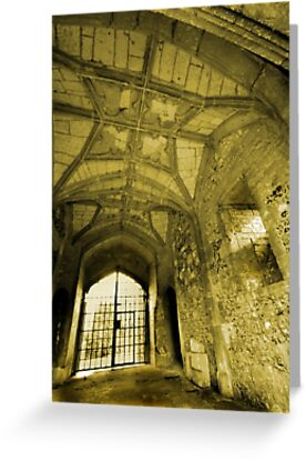 Gate House Interior - Donnington Castle by Samantha Higgs