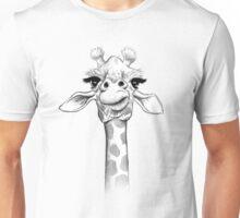 Sketch Giraffe Unisex T-Shirt