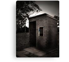 Ticket booth Canvas Print