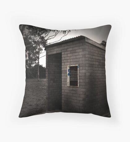 Ticket booth Throw Pillow