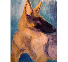 Sirius Portrait Painting Photographic Print