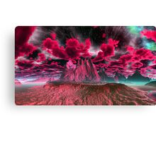 """RED NIGHT"" Canvas Print"