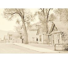 Bannack Historic District Photographic Print