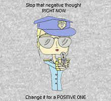 positive police Womens Fitted T-Shirt