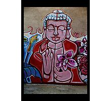 The Voice of Buddha Photographic Print