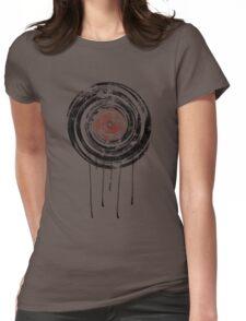 Vinyl Records Retro Urban Grunge Design Womens Fitted T-Shirt