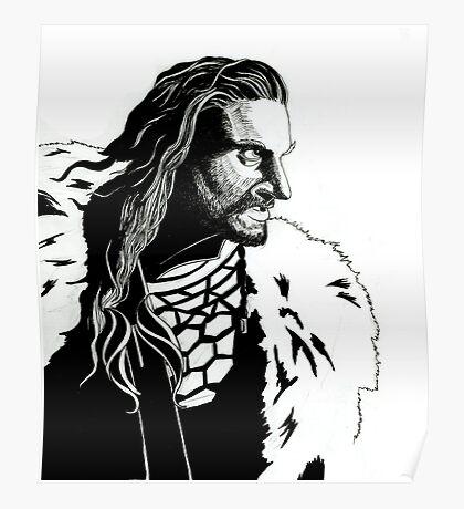 Thorin Oakenshield Poster