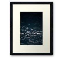Brisbane Sky - Looking Up - January 02 2011 Framed Print