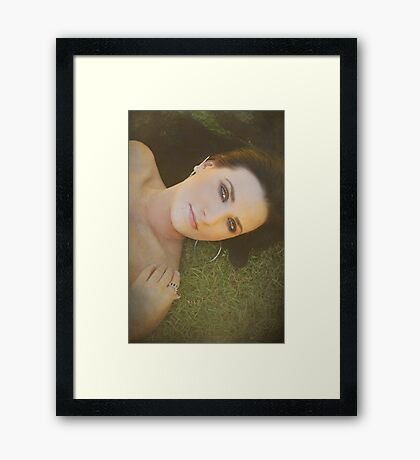 After the Picnic Framed Print