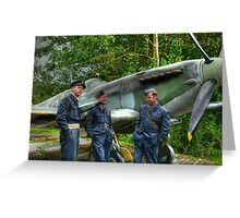 Royal Air Force revisited Greeting Card