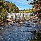 Rolling Dam - Blackstone, MA by Stephen Cross Photography