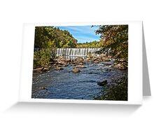 Rolling Dam - Blackstone, MA Greeting Card