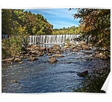 Rolling Dam - Blackstone, MA Poster