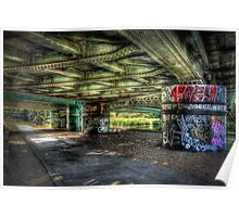 Under The Track Poster