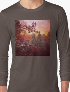 Autumn colours in the nature Long Sleeve T-Shirt