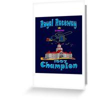 Royal Raceway 1997 Champion mario kart 64 Greeting Card