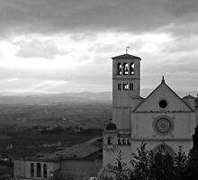 St Francis's Basilica at Assisi, Umbria, Italy by FotoMarg