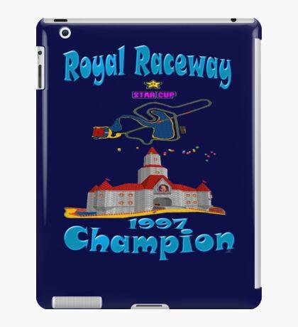 Royal Raceway 1997 Champion mario kart 64 iPad Case/Skin
