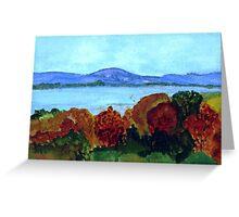Lake Memphremagog in Autumn Greeting Card