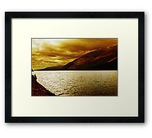 Loch Ness, Scotland, UK Framed Print